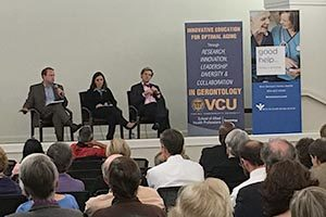 """Moderated discussion at """"Being Mortal"""" Community Event."""